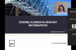 Įvyko 32-asis Prof. J. Matulionio jaunųjų matematikų konkursas